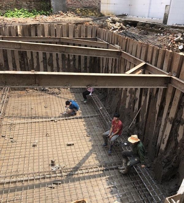 Công trình thi công Văng hầm