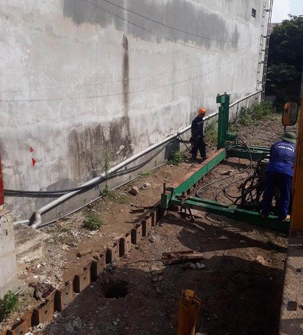 Công trình ép Cừ U nhà dân tại Hà Nội