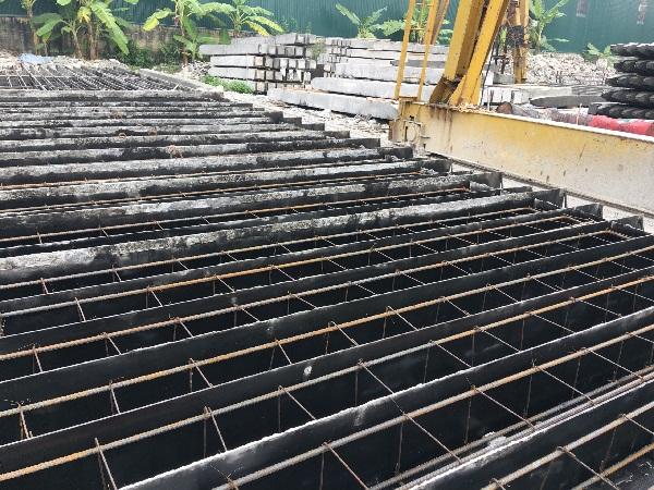 Chi tiết cọc bê tông cốt thép